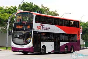SBST Volvo B9TL (SG5300P) - Service 118
