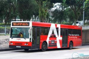 SMRT Mercedes-Benz O405 (TIB540R) - Service 961
