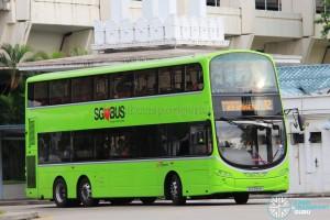 SBS Transit Volvo B9TL Wright (SG5558M) - Service 12