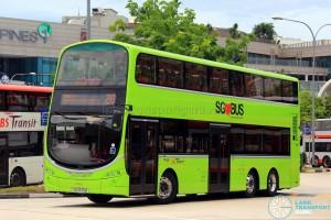 SBS Transit Volvo B9TL Wright (SG5570B) - Service 20
