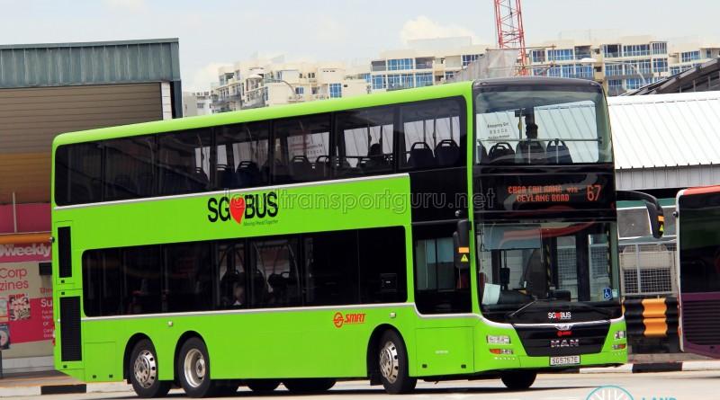 SMRT MAN A95 (SG5757E) - Service 67
