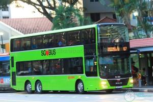 SMRT MAN A95 (SG5761S) - Service 67