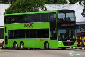 SG5762P on 969 - SMRT Buses MAN A95