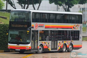 SMRT MAN A95 (SMB5888H) on Service 190