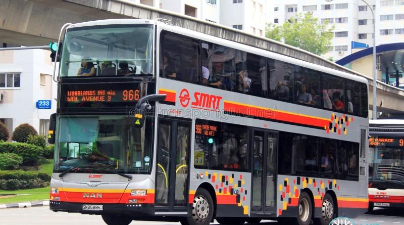 SMRT MAN A95 (SMB5896J) - Service 966