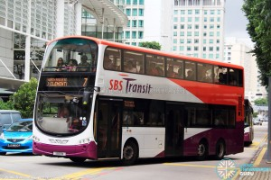 SBST Volvo B9TL (SBS5M) - Service 7
