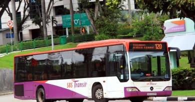 SBS Transit Mercedes-Benz Citaro (SBS6029E) - Service 120