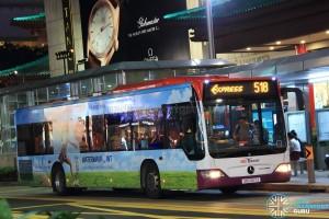 SBS Transit Mercedes-Benz Citaro (SBS6117J) - Express 518