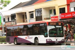 SBS Transit Mercedes-Benz Citaro (SBS6126H) - Service 9A