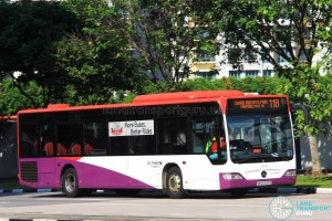 Go-Ahead Mercedes-Benz Citaro (SBS6334Z) - Service 118