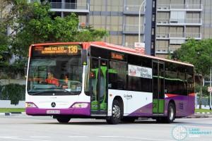 Go-Ahead Mercedes-Benz Citaro (SBS6383G) - Service 136