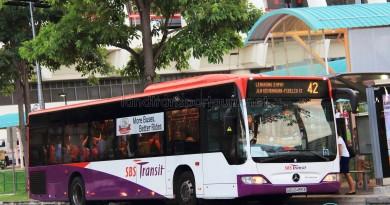 SBS Transit Mercedes-Benz Citaro (SBS6456E) - Service 42