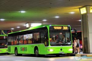 Go-Ahead Mercedes-Benz Citaro (SBS6461P) - Service 36A