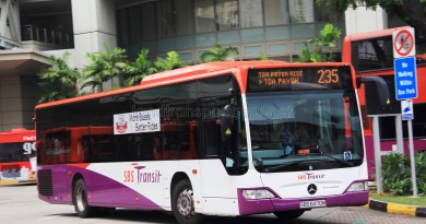 SBS Transit Mercedes-Benz Citaro (SBS6470M) - Service 235