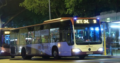 SBST Mercedes-Benz O530 Citaro (SBS6471K) - Nite Owl 1N