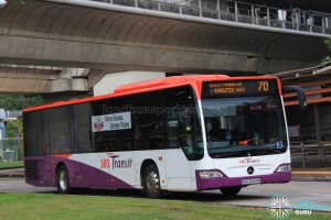 SBS Transit Mercedes-Benz Citaro (SBS6534M) - Service 70