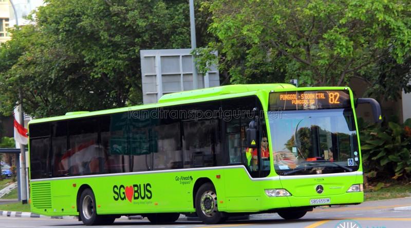 Go-Ahead Mercedes-Benz Citaro (SBS6551M) - Service 82