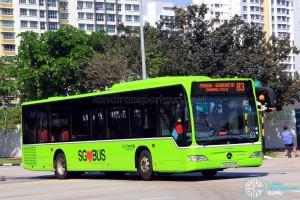 Go-Ahead Mercedes-Benz Citaro (SBS6551M) - Service 83
