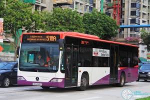 SBS Transit Mercedes-Benz Citaro (SBS6565Z) - Service 518A