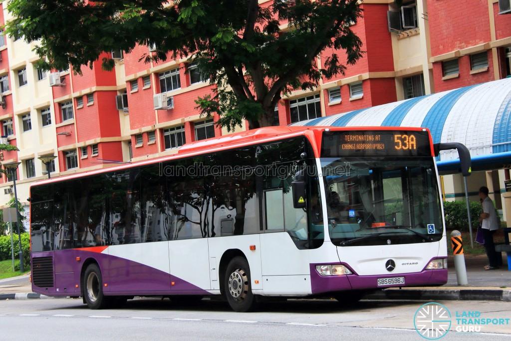 SBS Transit Mercedes-Benz Citaro (SBS6596J) - Service 53A