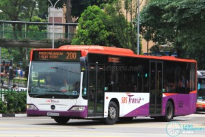 SBS Transit Mercedes-Benz Citaro (SBS6769C) - Service 200