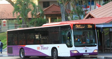 SBS Transit Mercedes-Benz Citaro (SBS6811M) - Service 30e