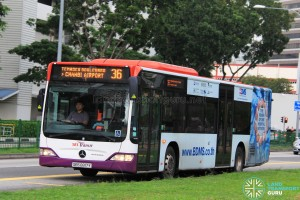 SBS Transit Mercedes-Benz Citaro (SBS6817Y) - Service 36