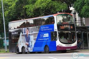 SBS Transit Volvo B9TL Wright (SBS7712J) - Service 14