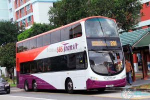 SBST Volvo B9TL (SBS7H) - Service 291, transferred to LTA ownership