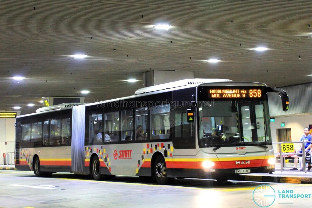 SMRT MAN NG363F A24 (SMB8031T) - Service 858