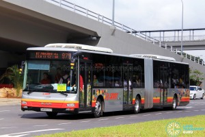 SMRT MAN NG363F A24 (SMB8032R) - Service 979