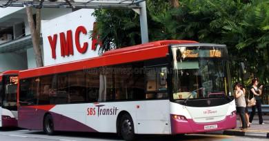 SBST Scania K230UB (SBS8192C) - Service 174e
