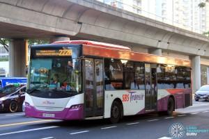 SBST Scania K230UB (SBS8306S) - Service 222B