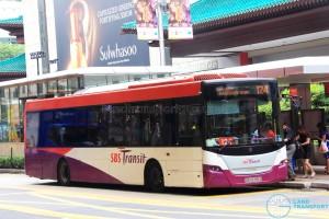 SBS Transit Scania K230UB Euro IV (SBS8399Z) - Service 124