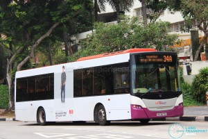 SBS Transit Scania K230UB Euro V (SBS8675B) - Service 34A