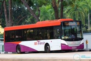 SBS8709M on 36 - SBS Transit Scania K230UB