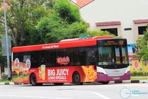 SBS Transit Scania K230UB Euro V (SBS8735L) - Service 14A