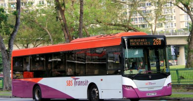 SBST Scania K230UB (SBS8779K) - Service 268