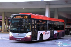 SBS Transit Scania K230UB Euro V (SBS8781C) - Service 55B