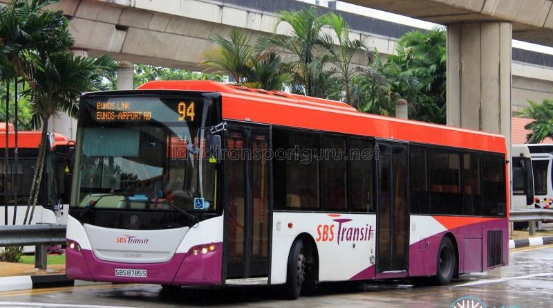 SBS Transit Scania K230UB Euro V (SBS8785S) - Service 94