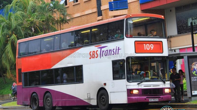 SBS Transit Volvo Olympian 12m (SBS9564G) - Service 109
