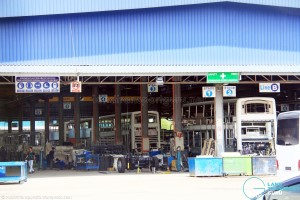 A95 production line at Gemilang Coachworks, Malaysia