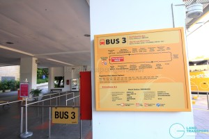 Beach Station Transfer Hub - Bus 3 details