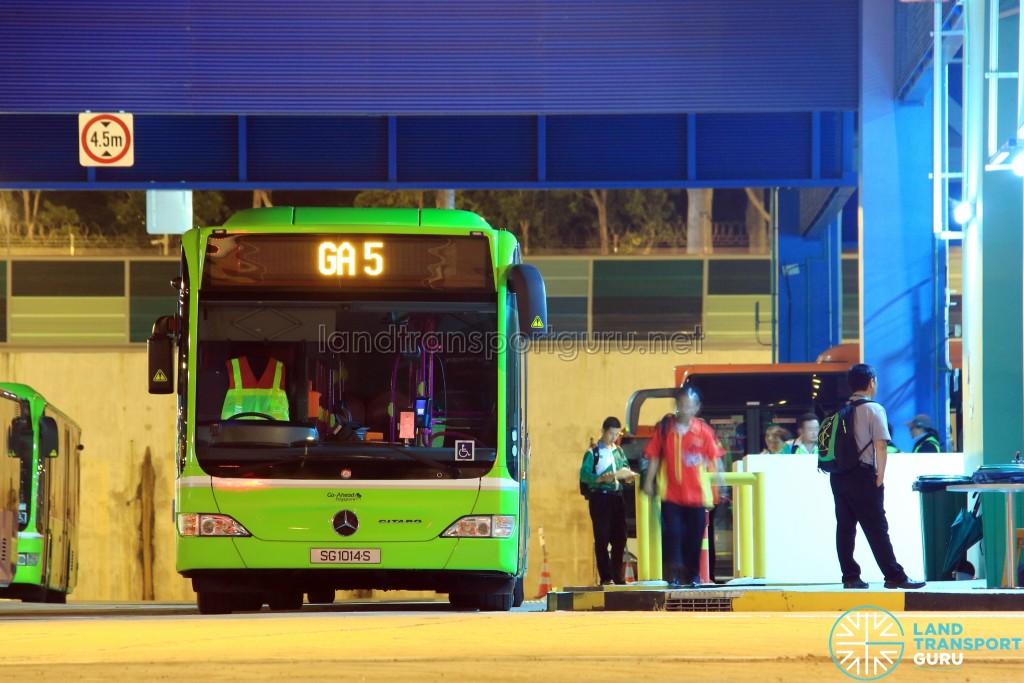 Go-Ahead Mercedes-Benz Citaro - Employee Bus GA5
