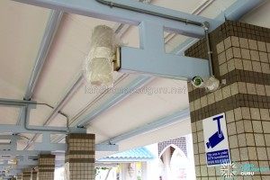 New CCTV cameras being installed at Pasir Ris Bus Interchange