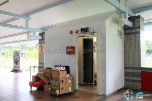 New server room being installed at Pasir Ris Bus Interchange