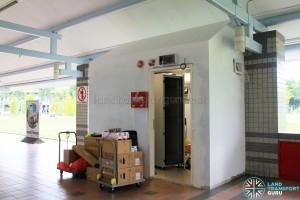 New server room being installed at Pasir Ris Bus Interchange