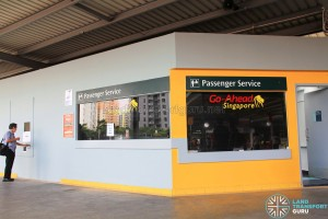 Go-Ahead Singapore Office at Punggol Temporary Bus Interchange (Aug 2016)