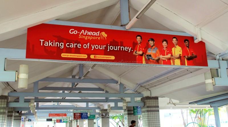 Pasir Ris Bus Interchange - Go-Ahead banner