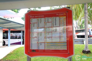 Pasir Ris Bus Interchange - Go-Ahead bus service information